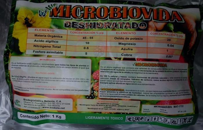 Microbiovida Deshidratado